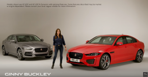 Jaguar XE Ginny Buckley