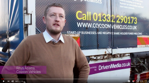 DrivenMedia : Cocoon Vehicles Testimonial with Rhys Adams