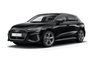 Audi A3 Sportback on 12 month short term car lease.