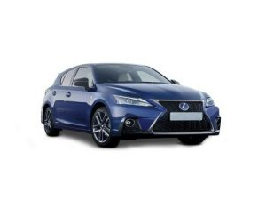 Lexus CT Hatchback on 12 month short term car lease.