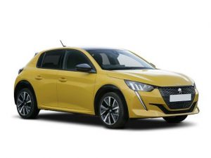 Peugeot 208 Hatchback on 18 month short term car lease.