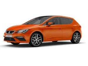 SEAT Leon Hatchback on 7 month short term car lease.