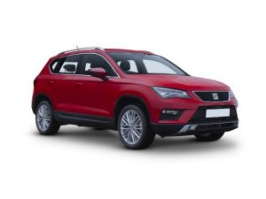 Seat Ateca Estate on 7 month short term car lease.