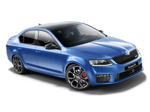 Skoda Octavia Hatchback on 7.5 month short term car lease.