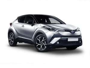 Toyota C-HR Hatchback on 5 month short term car lease.