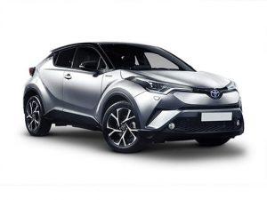 Toyota C-HR Hatchback on 5 month short term car lease.