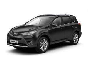 Toyota RAV4 Estate on 5 month short term car lease.