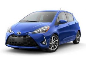 Toyota Yaris Hatchback on 6 month short term car lease.