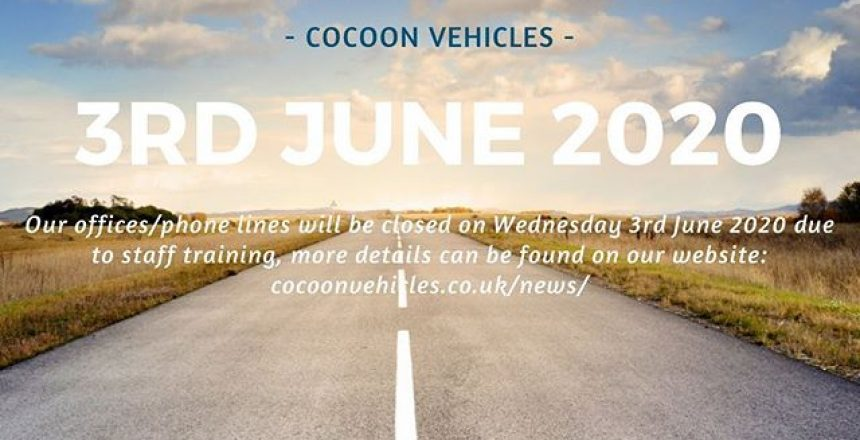 On Wednesday 3rd June our offices will be closed for the day. We will reopen at 9am on Thursday 4th June 2020. For more information click the link in the bio and read our news section.