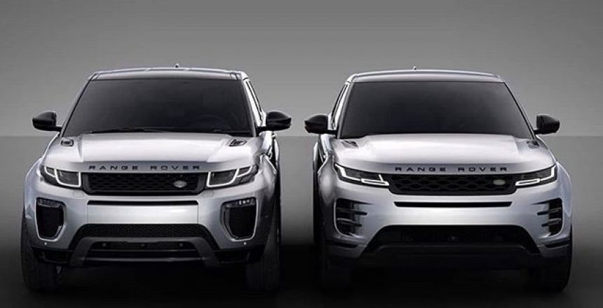 Posted @withregram • @rangerover.world Which Evoque is best? Discussion: does the newer model look to much like the Sport?🤔🤔 .