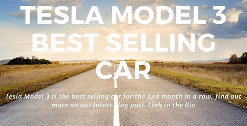 Tesla Model 3 is the best selling car in the UK for the 2nd month running! Read more in our latest blog post! Link in the bio.