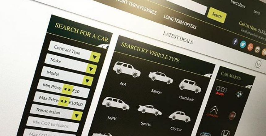 Sneaky photo of our new Cocoon Vehicles website!