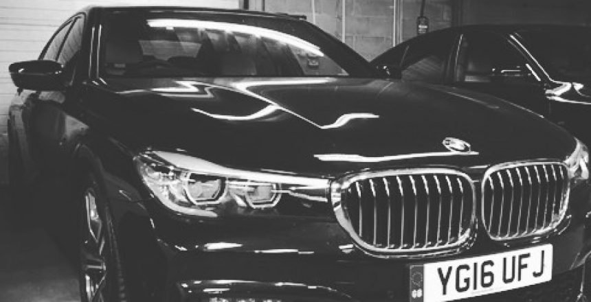 The fantastic BMW 7 Series Saloon!