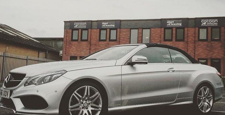 Mercedes E Class Cabriolet!