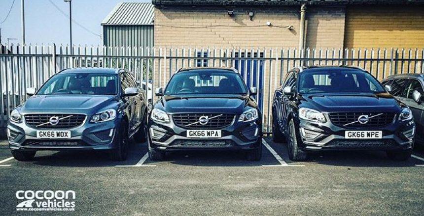 Volvo XC60's everywhere!