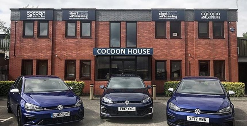 3 x Blue Golfs! 2 x Golf R and 1 Golf GTE Short and Long Term Car Leasing : 0330 330 9425 : or GOOGLE
