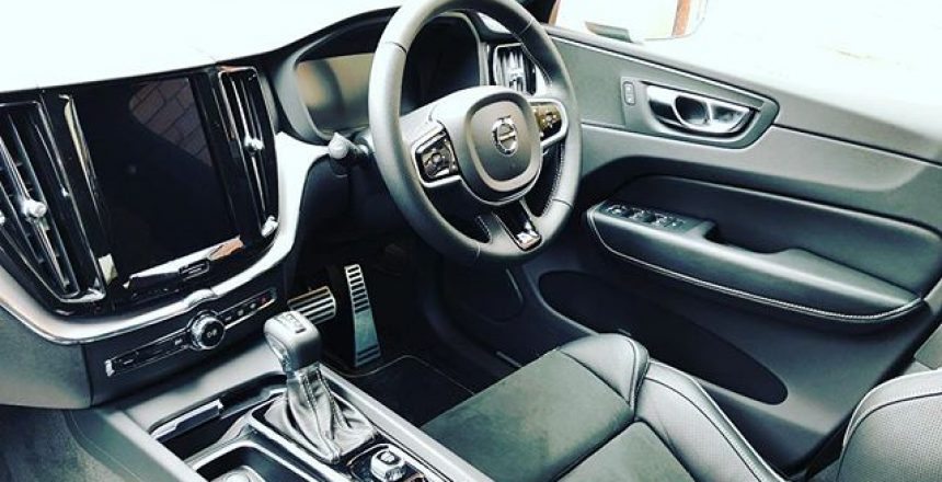 The New Volvo XC60 interior! This has just become the number 1 short term car so far this year!