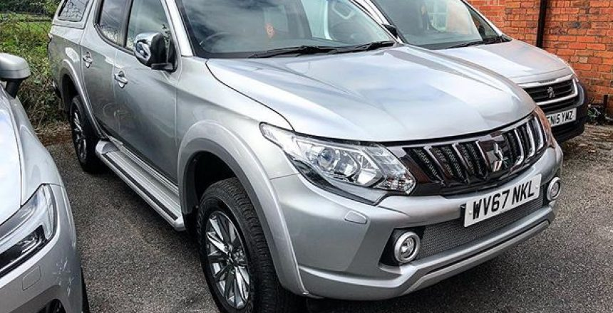 Mitsubishi L200 Pickup available - Special Offer for a re-hire! Call Gordon on 01332 290173