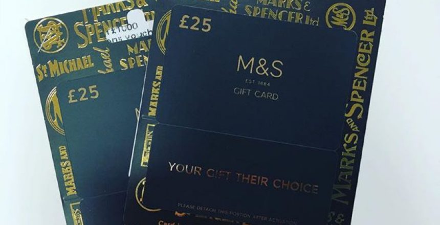 Referral Vouchers ready to go out! £25 for you and £25 to your friend! What's not to love!