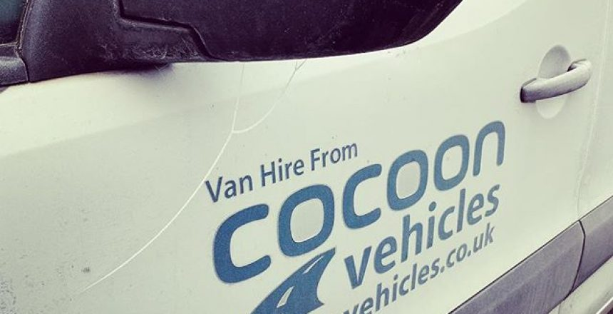 It's a very frosty one at @cocoonvehicles HQ today! -7 on the thermometer. All in the nice warm office ready for the day!