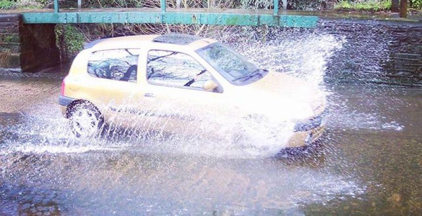 Splash in the ford!