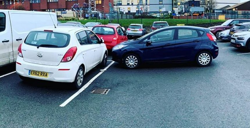 When you park, make sure you put your handbrake on
