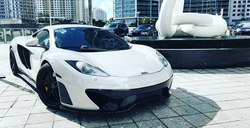 Epic McLaren by an Epic Hotel @mclarenauto @epichotel