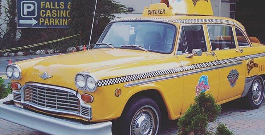 New York Taxi at Niagara Falls
