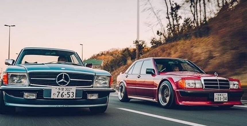 Posted @withrepost • @topgear Welcome, one and all, back to Japan - a land filled with amazing cars and amazing people who tune cars. And this one's Amazing. Capital A. ⠀⠀⠀⠀⠀⠀⠀⠀⠀⠀⠀⠀ It is, in short, a classic Mercedes-Benz 450 SLC (rolling alongside a rather lovely 190R, we might add), decked out with a 3.0-litre twin-turbo engine from a Mark IV Toyota Supra. That's the fabled 2JZ engine. Made famous by some film, we can't remember the name. ⠀⠀⠀⠀⠀⠀⠀⠀⠀⠀⠀⠀  @mark_scenemedia