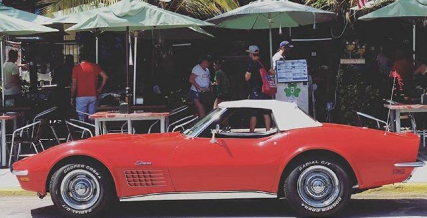 Corvette in Miami Beach
