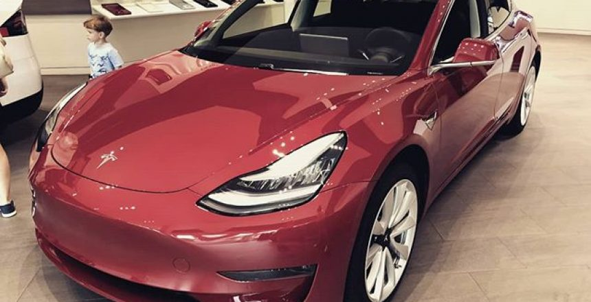 The amazing Tesla Model 3 - Now available to order in the UK