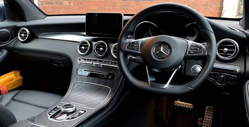 Mercedes GLC interior! Great car!