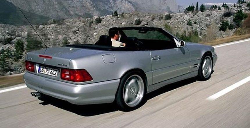 Posted @withrepost • @mercedesbenz_de Der Mercedes war der stärkste seiner Zeit. Er beflügelte die Baureihe 129 mit sagenhaften 525 PS verpackt in einem Motor. .