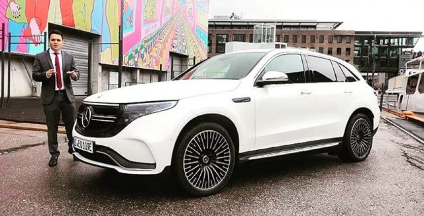 Posted @withrepost • @mercbenzking The wait is over Video is now live on YouTube 🚦Here I take you with me on the rainy Oslo roads 🌧🇳🇴 with the brand new EQC  Technology is complete with EQ display and acceptable range  Brace yourself.... 408 HP and over 2400KG  Watch the video of this amazing Benz!