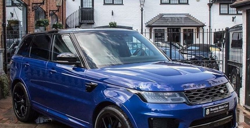 Posted @withrepost • @bramleymotorcars We have a rather fabulous Range Rover Sport SVR available for sale.