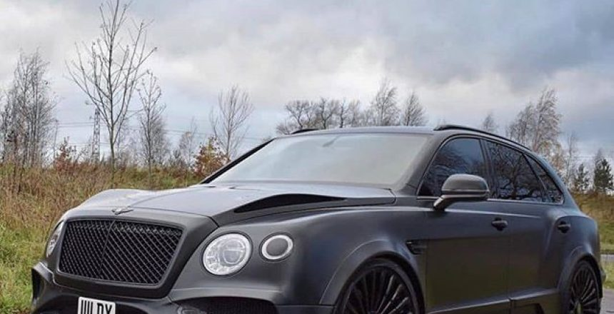 Posted @withrepost • @onyx_portugal Bentley Bentayga GTX 4x4 - ONYX CONCEPT -