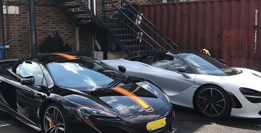 Posted @withrepost • @yiannimize McLaren Monday 🤷🏽♂️... Have a great week everyone.  Dream-Believe-Achieve  ... @y14nny ....