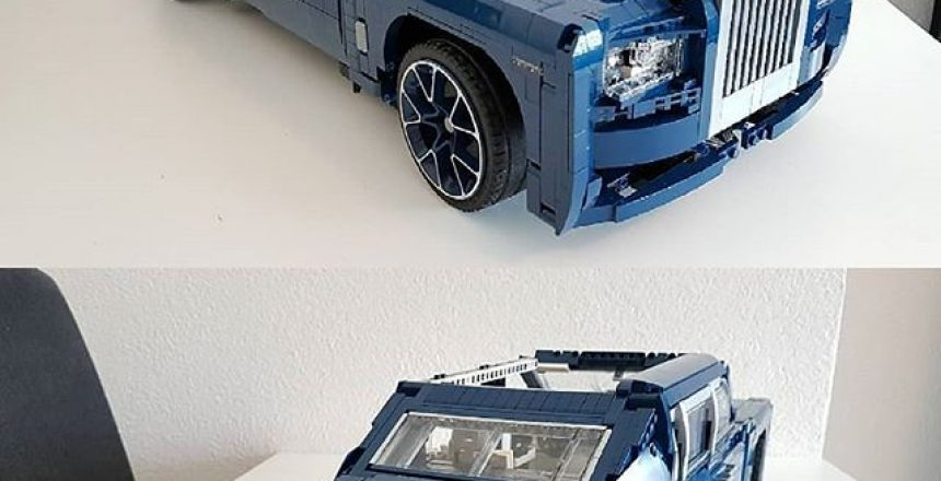 Posted @withrepost • @rollsroyce_club_official [WIP] Rolls Royce Phantom 1.8 (2018)By Appie in @LEGO Technic and Model RollsRoyce Team @rollsroyce_club_official