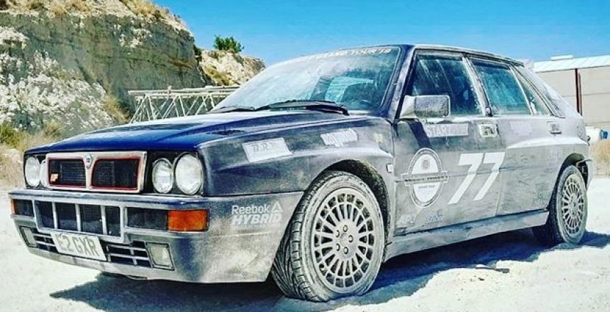 "Posted @withrepost • @lenny.urban There are lots of incredible luxury cars, supercars and sports cars on the @yiannimizegt but really stands out in the form of this perfect Lancia Delta Integrale HF Evo 2. And after a little play in a Spanish sand pit it really points back to its rally heritage! ""I drive all my cars like this....they are built for it"" - The Owner 🏼🥇 Leaving Valencia soon, on to Barcelona!"