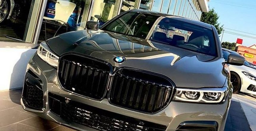 Posted @withrepost • @bmwenthusiast 2020 750i in Davit Grey  via @m5avage