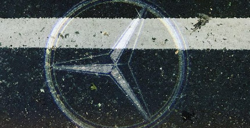It's the detail that counts! And @mercedesbenzuk have got it right with their puddle lights!