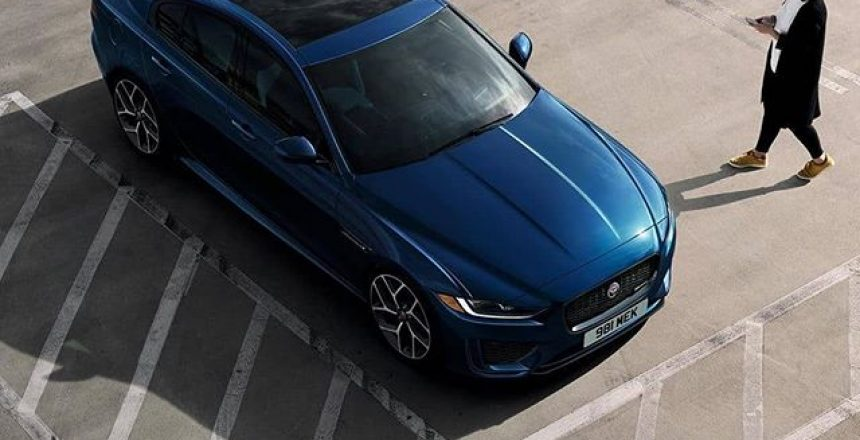 Posted @withrepost • @jaguarusa Look into the eyes of the future of sports sedans. The New 2020 Jaguar XE features an exterior with new details that include sculpted front and rear bumpers, a new grille and premium LED headlights. The new is on sale now. Learn more at the link in bio.