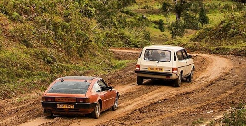 Posted @withrepost • @topgear First person to name both cars gets 10 internet points🏅 On this week's @topgeartv, @mcguinness.paddy and @aflintoff11 take to the jungle in two rare (but cheap) classics. See how they fare at 8pm on Sunday on @bbctwo and @bbciplayer