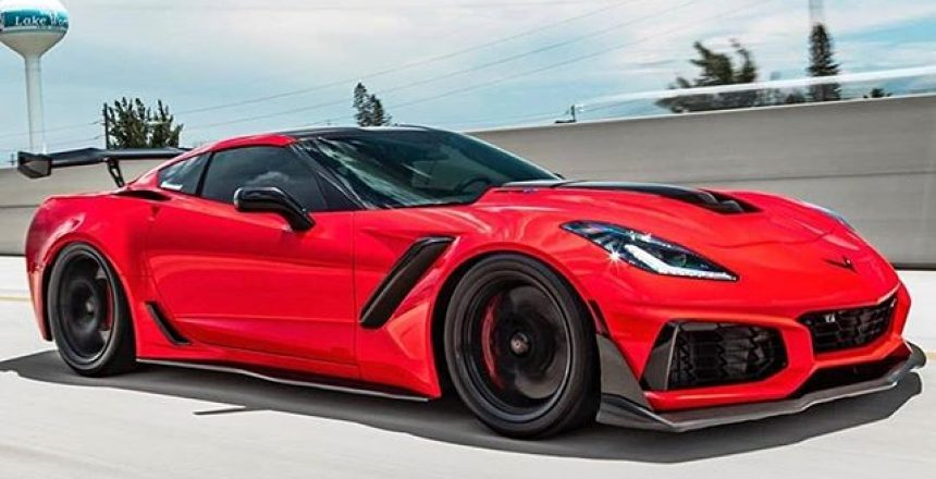 Posted @withrepost • @carswithoutlimits Red ZR1 Photo @kfletchphotography Owner @optimistic.zr1m3