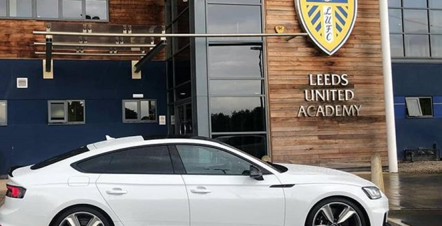 Posted @withrepost • @global.autocare The Audi RS5 looking cool outside Thorp Arch after one of our favourite members of the @leedsunited squad took it for the season a couple of weeks ago