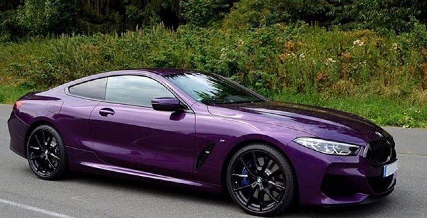 Posted @withrepost • @m8world How do you like Twilight Purple on the M850i ... Photos: @bmwblog