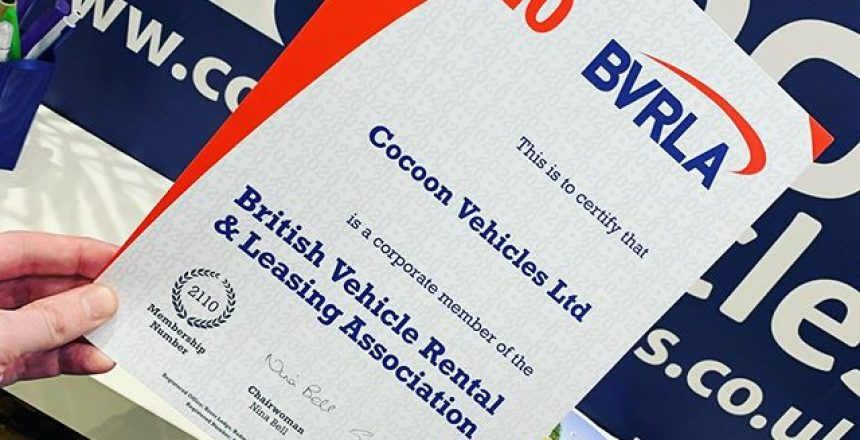 New Year, New BVRLA certificate for 2020. We're proud to follow their code of conduct on all of our rental and short term car lease vehicles. @bvrla