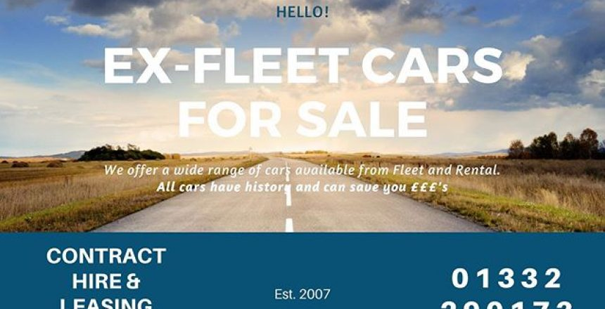 Did you know that we offer a wide range of ex-fleet and ex-rental cars? All available with history, HPI clear and the balance of the manufacturers warranty. We can also do competitive finance on both Hire Purchase and PCP. Call the team on 01332 290173 of cost the link in our bio and hit the ex-fleet link.