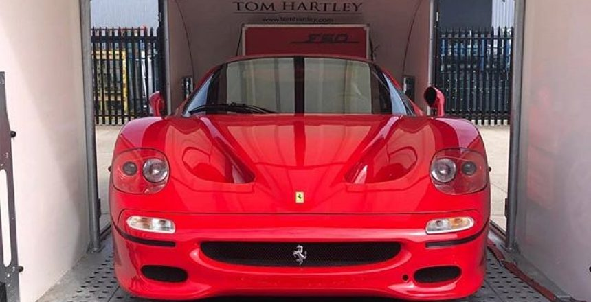 "Posted @withregram • @tomhartleycars 😯 Uuuuuim !! Not A ""Ferrari F50"" ? you Bet it is & Only the Best on the Planet for sale at The Moment Visit tomhartley.com"