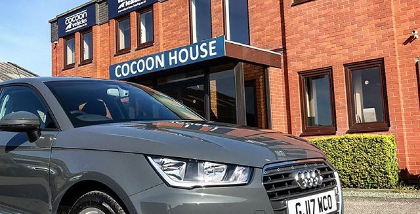- to the old office in Derby and the Audi A1! These were very popular cars at the time and were available on Flexi-rent and Short Term Car Lease's. Find out more about Cocoon Vehicles on our website!